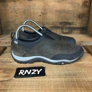 Merrell Waterproof Warm Leather Brown Slip On Shoe